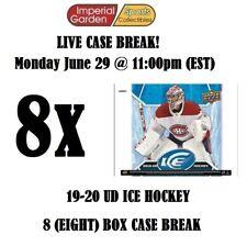 19-20 UD ICE 8 (EIGHT) BOX INNER CASE BREAK #1764 - Montreal Canadiens