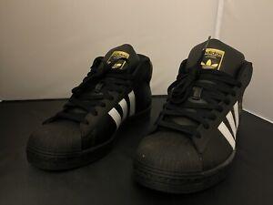 Adidas Pro Model Black White Gold Men's 8.5 FV5723