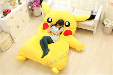 Popular Large Single Bed Filled Pikachu Bed Carpet Tatami Mattress Sofa Bean Bag