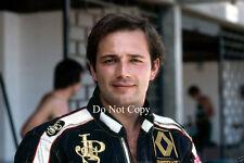 Elio de Angelis JPS Lotus F1 1983 fotografía de retrato