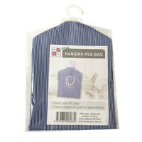 Hanging Peg Bag Laundry Basket Clip Storage Pegs Holder Clothes Cloth Bucket