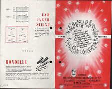 SUSSEX/ENGLAND, Prospekt um 1950, Juwel-Kugeln für Kugelschreiber