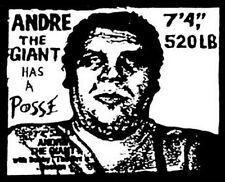 """Andre The Giant Has A Posse"" Retro 70's Travel Sticker"