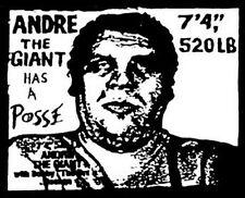 Andre The Giant Has A Posse  Retro 70's Travel Sticker  WWF NWA Wrestling 70's