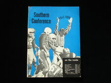 1968 College Football Southern Conference Official Media Guide EX+