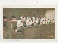 Interieur Kerk Zuid Beveland Netherlands Vintage Postcard 944a