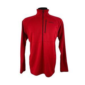 Patagonia R1 Regulator Red 1/4 Zip Pullover Sweater Sweatshirt Activewear Sz L