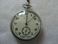 Russian Mechanical Wind Up Vintage Pocket Watch