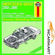 Mercedes-Benz Workshop Manuals 1984 Car Service & Repair Manuals