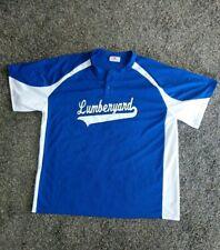 "TEAMWORK ATHLETIC APPAREL ""Lumberyard"" 2-button polyester Jersey size XL 46-48"