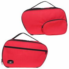PANNIER LINER BAGS FOR BMW RT GS 1150 1100 850 K1200 EXPANDABLE RED COLOUR