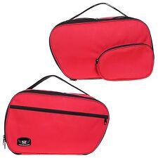 Koffer Inliner Tasche für BMW RT GS 1150 1100 850 K1200 Erweiterbar rote Farbe