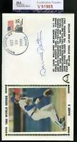 Darrell Porter Jsa Coa Autographed 1982 Ws Fdc Hand Signed Authentic