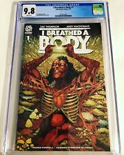 CGC 9.8 I Breathed a Body #1 Aftershock Comics White Pages 2021