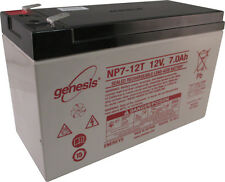 Enersys Genesis 12V 7AH F2 Battery Replacement for Exide EP1229W