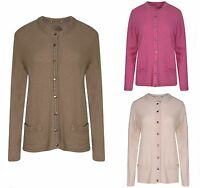 M&S LADIES LUXURY LAMBSWOOL CARDIGAN MARKS AND SPENCER SOFT KNIT TOP CARDIE