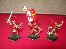 Warhammer Empire Reiksguard Foot Knights-Capitaine + standard + Hornblower