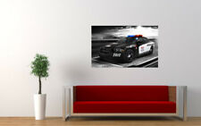 """DODGE CHARGER POLICE PRINT WALL POSTER PICTURE 33.1""""x20.7"""""""