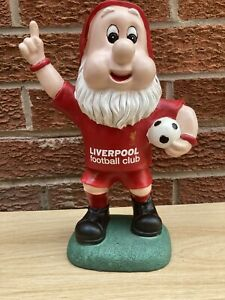 Liverpool FC Official Football Father Christmas Santa Clause Gnome Statue #9