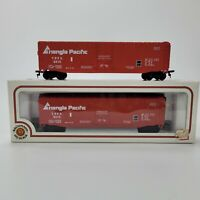 Lot of (2) Bachmann HO Scale Triangle Pacific Freight Train Box Car TPFX #5510