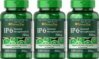 IP-6 INOSITOL HEXAPHOSPHATE 510 MG PROSTATE BREAST LIVER SUPPLEMENT 360 CAPSULES
