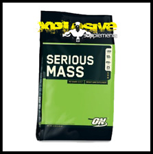 Optimum Nutrition ON Serious Mass 5.4kg Weight Gainer Protein Strawberry