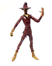 "DC Comics Batman Comic Style SCARECROW Villain 6"" scale figure toy RARE"