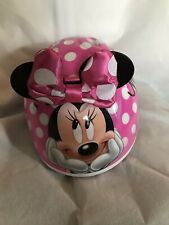 Disney Minnie Mouse Helmet Bike Bicycle 3D Bow Ears Toddler Girls (48-52 cm)
