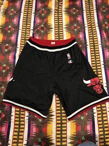 Vintage Champion Chicago Bulls Jersey Shorts M
