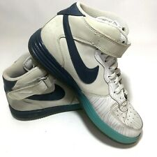 Nike Lunar Air Force One High Top Basketball Shoes Men's Size 11 555089-003