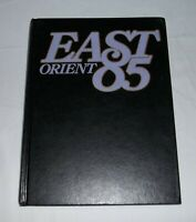 """1985 East High """"Orient"""" yearbook Rochester NY"""