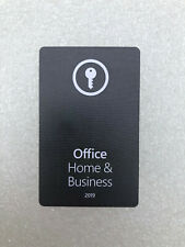 Microsoft Office 2019 Home and Business - Product key card for PC / MAC