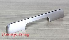 "6"" Solid Kitchen Cabinet Bar Pull Handle With Stainless Steel Brushed Finish"