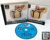 Bomberman ~ Sony Playstation PS1 Black Label Game ~ PAL *Very Good Complete*