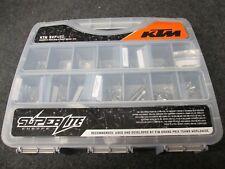 KTM SXF450 2018 SUPERLITE Titanium full chassis,engine + plastics bolt kit