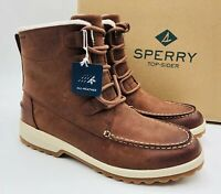Sperry Women's Maritime Cruz Waterproof Ankle Boot Rust Leather, Pick A Size