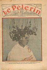 Portrait Parisienne Frisettes Coiffeur Cheveux Ondulés Mode Fashion Paris 1934