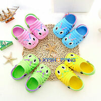 Unisex Kids Girls Boys Holiday Beach Clogs Casual Soft Sandals Shoes All Sizes