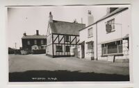 Devon postcard - Ipplepen, nr Newton Abbot - RP (A99)