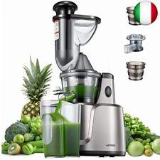 Estrattore di Succo a Freddo, Aicook 3 in 1 Estrattore per Frutta, Verdura,