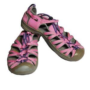 Keen Waterproof Womens Newport H2 Pink Hiking Bungee Shoes Size 6 US