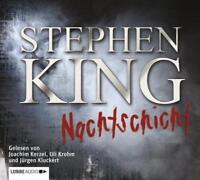 Preisalarm! HORROR HÖRBUCH * Nachtschicht / Stephen King * 3 MP3 CDs * NEU/OVP