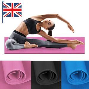 173*60*0.4cm YOGA MAT GYM FITNESS EXERCISE NON SLIP PILATES PHYSIO MATS LARGE UK