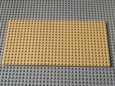 LEGO Tan baseplate Plaque de base 16 x 32 ref 3857 / set 6762 6769 5988 6765 ...