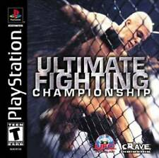 Ultimate Fighting Championship PS New Playstation
