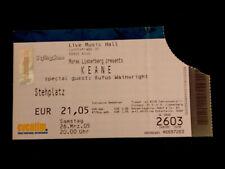 Keane Ticket Stub Hopes & Fears Tour Cologne 26 March 2005 Concert Memorabilia