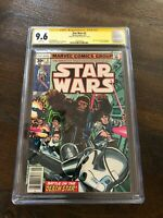 Star Wars #3 (Marvel) CGC 9.6 Signed Howard Chaykin