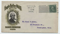 1916 Eagle Roller Mill Co. Daniel Webster flour color ad cover New Ulm MN [y4047