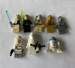 Genuine Lego Mini Figure Bundle Star Wars x8, RARE LOT
