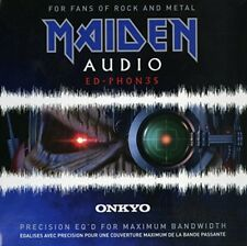 ONKYO IRON MAIDEN stereo headphone ED-PHON3S from japan